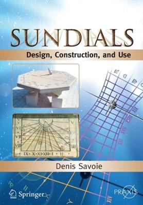 Sundials Denis Savoie 9780387098012