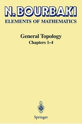 General Topology Nicolas Bourbaki 9783540642411