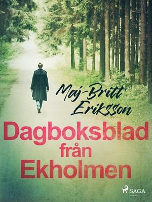 Dagboksblad från Ekholmen Maj-Britt Eriksson 9788726140286