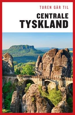 Turen går til Centrale Tyskland Jytte Flamsholt Christensen 9788740039085