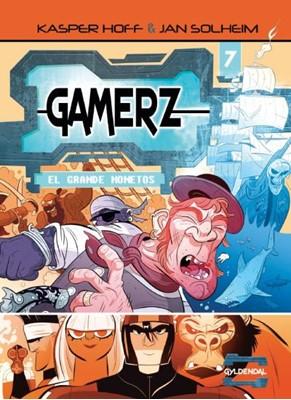 Gamerz 7 - El Grande Monetos Kasper Hoff 9788702275056