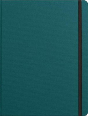 Shinola Journal, HardLinen, Ruled, Dark Teal (7x9) Shinola 9781643280608