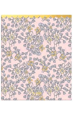 Rice Ringbind A4 med 2 ringe, Soft Pink Hanging Flowers Print  8718924666616
