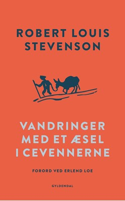 Vandringer med et æsel i Cevennerne Robert Louis Stevenson 9788702265415