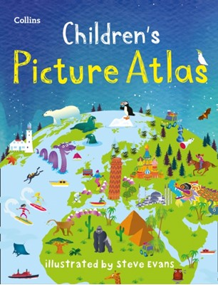 Collins Children's Picture Atlas Collins Maps, Collins Kids 9780008320324