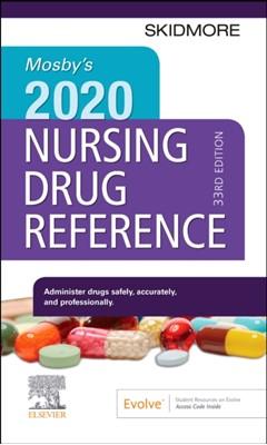Mosby's 2020 Nursing Drug Reference Linda Skidmore-Roth 9780323661362