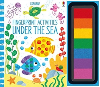 Fingerprint Activities Under the Sea Fiona Watt 9781474953597