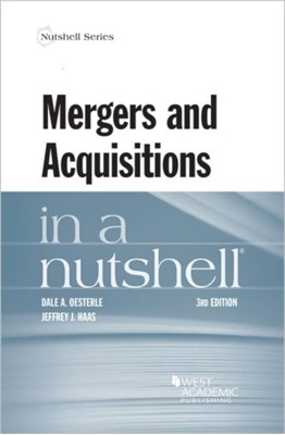 Mergers and Acquisitions in a Nutshell Dale Oesterle 9780314280312