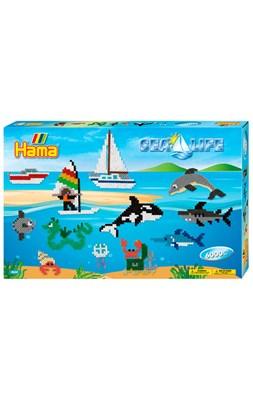 Hama Midi Gaveæske 3042 Sea Life, Havet  0028178030421