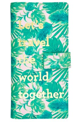 "Rice Rejsedokuments pung i Selmas ""Leaves""-print  5708315171464"