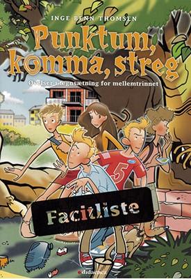 Punktum, komma, streg Inge Benn Thomsen 9788779400221