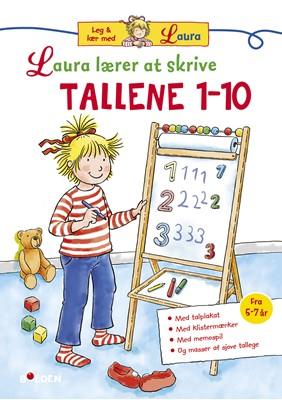 Laura lærer at skrive tallene 1 - 10 Ukendt forfatter 9788772051932