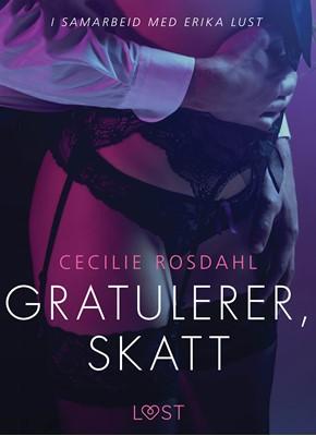 Gratulerer, skatt - en erotisk novelle Cecilie Rosdahl 9788726119640