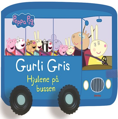 Peppa Pig - Gurli Gris - Hjulene på bussen  9788741506661