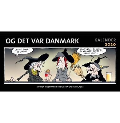 Og det var Danmark kalender 2020 Morten Ingemann 9788740050691