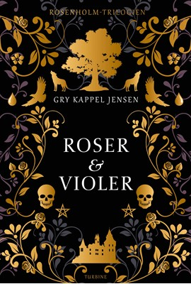 Roser og violer Gry Kappel Jensen 9788740656534