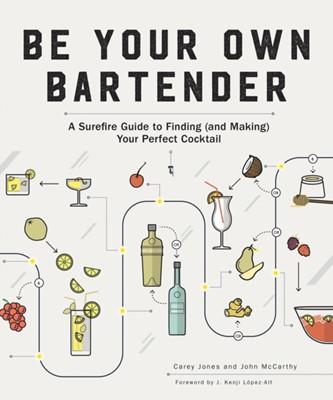Be Your Own Bartender Carey Jones, John McCarthy 9781682682692