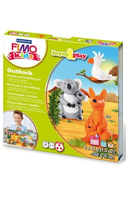 "FIMO Kids sæt, ""Outback"" - Kænguru m.m.  4007817037409"