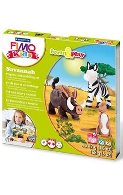 "FIMO Kids sæt, ""Savannah"" - Savanne  4007817037423"