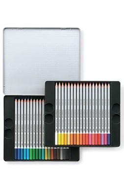 STAEDTLER karat akvarel farveblyanter, 36 stk. i metalæske  4007817124307
