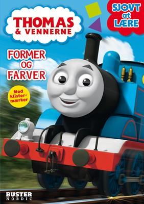 Thomas: Sjovt at lære Former og Farver  9788793219526