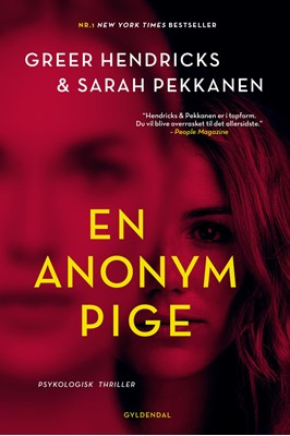 En anonym pige Sarah Pekkanen, Greer Hendricks 9788702286229