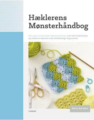 Hæklerens mønsterhåndbog Betty Barnden 9788740655261