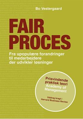 Fair proces Bo Vestergaard 9788799640348