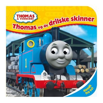 Thomas og de drilske skinner  9788793219496