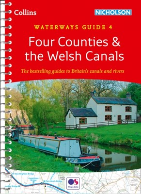 Four Counties & the Welsh Canals Collins Maps 9780008309381