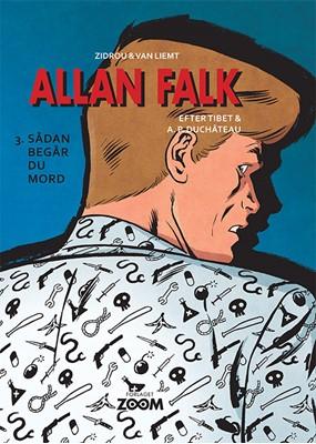 Allan Falk 3: Sådan begår du mord Van Liemt, Zidrou 9788770210515