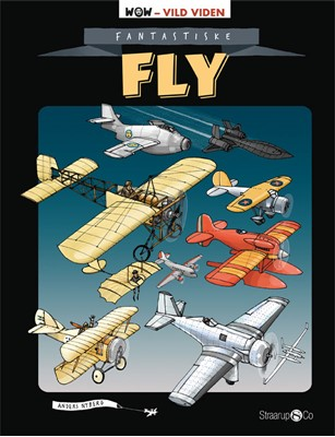 Fantastiske fly Anders Nyberg 9788770183864
