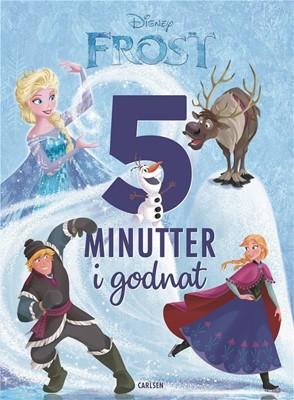 Fem minutter i godnat - Frost Disney Book Group, DISNEY 9788711914007