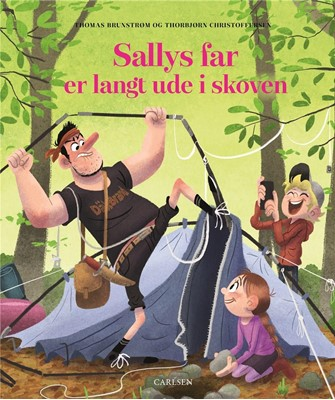 Sallys far er langt ude i skoven Thomas Brunstrøm 9788711912492