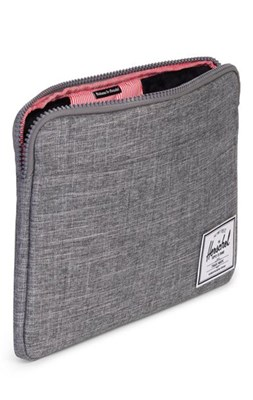 Herschel Anchor Macbook Sleeve, Raven Crosshatch  0828432205639