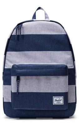 Herschel Rygsæk Classic, Border Stripe blå/grå  0828432243501