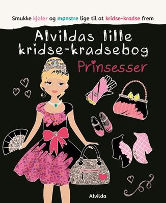 Alvildas lille kridse-kradse bog - Prinsesser  9788741508290