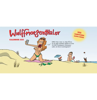 Wulffmorgenthaler kalender 2020 Wulffmorgenthaler, Anders Morgenthaler, Mikael Wulff 9788740050714