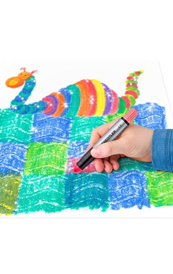 STAEDTLER jumbo gel metallic farver 6 stk.  4006608239022