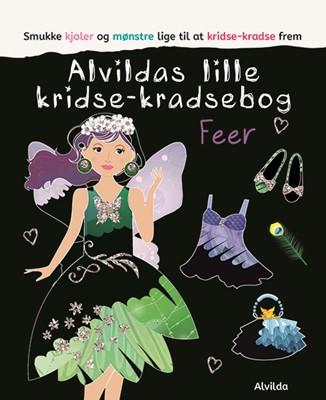 Alvildas lille kridse-kradse bog - Feer  9788741508283