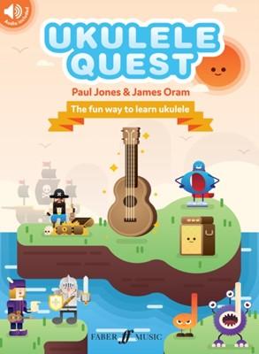 Ukulele Quest James Oram, Paul Jones 9780571541010