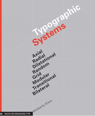 Typographic Systems Kimberly Elam 9781568986876