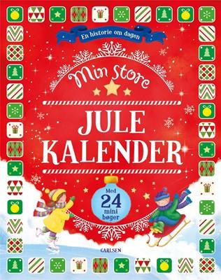 Min store julekalender - med 24 minibøger  9788711917879