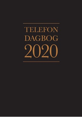 Telefondagbog 2020 Ringhof, Lindhardt 9788711911129