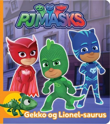 PJ Masks Gekko og Lionel-saurus Karrusel Forlag 9788771316452