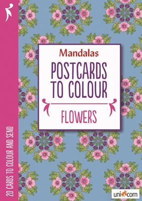 Postcards to Colour - FLOWERS  9788799835737