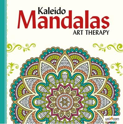 Kaleido Mandalas Art Therapy WHITE  9788799835782