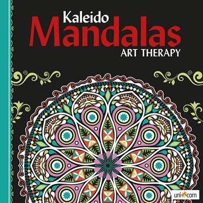Kaleido Mandalas Art Therapy BLACK  9788799835799