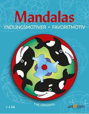Mandalas Yndlingsmotiver fra 4 år  9788791891083