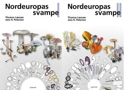 Nordeuropas svampe 1-2 Jens H. Petersen, Thomas Læssøe 9788702176162